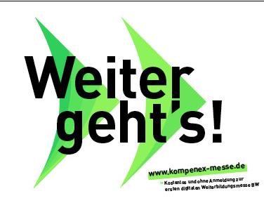 """Symbolbild für Veranstaltung """"KOMPENEX-Die erste digitale Weiterbildungsmesse in Baden-Württemberg"""""""